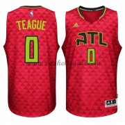Maglie NBA Jeff Teague 0# Alternate 2015-16 Canotte Atlanta Hawks..
