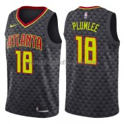 Maglie NBA Atlanta Hawks 2018 Canotte Miles Plumlee 18# Icon Edition..
