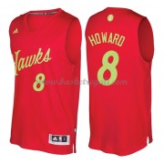 Magliette Basket Atlanta Hawks 2016 Dwight Howard 8# NBA Natale Swingman..