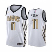 Maglie NBA Atlanta Hawks 2019-20 Trae Young 11# City Edition Canotte Swingman..