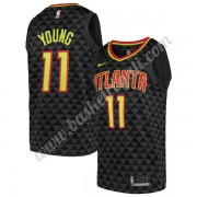 Maglie NBA Atlanta Hawks 2019-20 Trae Young 11# Nero Icon Edition Canotte Swingman..