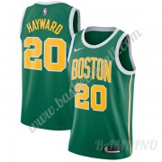 Canotte Basket Bambino Boston Celtics 2019-20 Gordon Hayward 20# Verde Earned Edition Swingman..