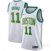 Canotte Basket Bambino Boston Celtics 2019-20 Kyrie Irving 11# Bianca City Edition Swingman..