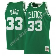 Maglie NBA Boston Celtics 1985-86 Larry Bird 33# Verde Hardwood Classics Canotte Swingman..