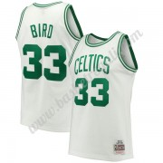 Maglie NBA Boston Celtics 1985-86 Larry Bird 33# Bianca Hardwood Classics Canotte Swingman..