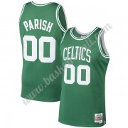 Maglie NBA Boston Celtics 1985-86 Robert Parish 00# Verde Hardwood Classics Canotte Swingman..