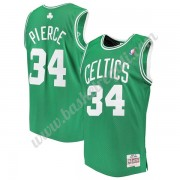 Maglie NBA Boston Celtics 2007-08 Paul Pierce 34# Verde Hardwood Classics Canotte Swingman..