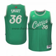 Magliette Basket Boston Celtics Uomo 2015 Marcus Smart 36# NBA Natale Swingman..