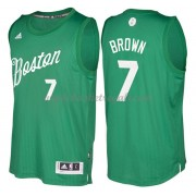 Magliette Basket Boston Celtics 2016 Jaylen Brown 7# NBA Natale Swingman..