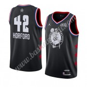Maglie Basket NBA Boston Celtics 2019 Al Horford 42# Nero All Star Game Canotte Swingman..