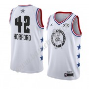 Maglie Basket NBA Boston Celtics 2019 Al Horford 42# Bianca All Star Game Canotte Swingman..