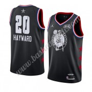 Maglie Basket NBA Boston Celtics 2019 Gordon Hayward 20# Nero All Star Game Canotte Swingman..
