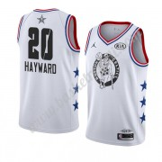 Maglie Basket NBA Boston Celtics 2019 Gordon Hayward 20# Bianca All Star Game Canotte Swingman..