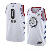 Maglie Basket NBA Boston Celtics 2019 Jayson Tatum 0# Bianca All Star Game Finished Canotte Swingman..