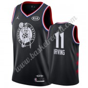 Maglie Basket NBA Boston Celtics 2019 Kyrie Irving 11# Nero All Star Game Canotte Swingman..