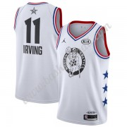 Maglie Basket NBA Boston Celtics 2019 Kyrie Irving 11# Bianca All-Star Game Finished Canotte Swingma..