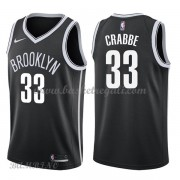Canotte Basket Bambino Brooklyn Nets 2018 Allen Crabbe 33# Icon Edition..