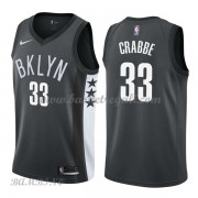 Canotte Basket Bambino Brooklyn Nets 2018 Allen Crabbe 33# Statement Edition..