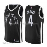 Canotte Basket Bambino Brooklyn Nets 2018 Jahlil Okafor 4# City Edition..