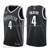 Canotte Basket Bambino Brooklyn Nets 2018 Jahlil Okafor 4# Icon Edition..