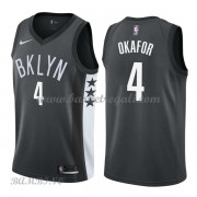 Canotte Basket Bambino Brooklyn Nets 2018 Jahlil Okafor 4# Statement Edition..