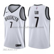 Canotte Basket Bambino Brooklyn Nets 2018 Jeremy Lin 7# Association Edition..