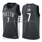 Canotte Basket Bambino Brooklyn Nets 2018 Jeremy Lin 7# Statement Edition..