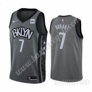 Canotte Basket Bambino Brooklyn Nets 2019-20 Kevin Durant 7# Grigio Statement Edition Swingman..