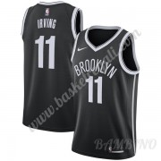 Canotte Basket Bambino Brooklyn Nets 2019-20 Kyrie Irving 11# Nero Icon Edition Swingman..