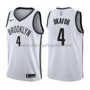 Maglie NBA Brooklyn Nets 2018 Canotte Jahlil Okafor 4# Association Edition..
