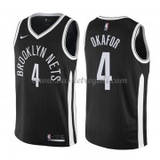 Maglie NBA Brooklyn Nets 2018 Canotte Jahlil Okafor 4# City Edition..