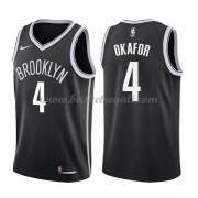 Maglie NBA Brooklyn Nets 2018 Canotte Jahlil Okafor 4# Icon Edition..
