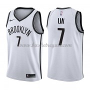 Maglie NBA Brooklyn Nets 2018 Canotte Jeremy Lin 7# Association Edition..