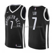 Maglie NBA Brooklyn Nets 2018 Canotte Jeremy Lin 7# City Edition..