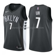 Maglie NBA Brooklyn Nets 2018 Canotte Jeremy Lin 7# Statement Edition..