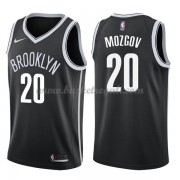 Maglie NBA Brooklyn Nets 2018 Canotte Timofey Mozgov 20# Icon Edition..