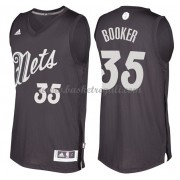 Magliette Basket Brooklyn Nets 2016 Trevor Booker 35# NBA Natale Swingman..