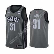 Maglie NBA Brooklyn Nets 2019-20 Jarrett Allen 31# Grigio Statement Edition Canotte Swingman..