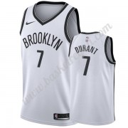 Maglie NBA Brooklyn Nets 2019-20 Kevin Durant 7# Bianca Association Edition Canotte Swingman..