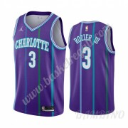 Canotte Basket Bambino Charlotte Hornets 2019-20 Terry Rozier 3# Viola Classics Edition Swingman..
