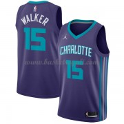 Maglie NBA Charlotte Hornets 2018 Canotte Kemba Walker 15# Statement Edition..