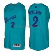 Magliette Basket Charlotte Hornets 2016 Marvin Williams 2# NBA Natale Swingman..