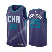 Maglie NBA Charlotte Hornets 2019-20 P. J. Washington 25# Viola Statement Edition Canotte Swingman..