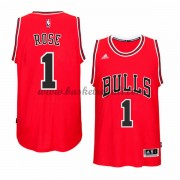 Maglie Basket NBA Chicago Bulls Uomo 2015-16 Derrick Rose 1# Road Swingman..