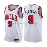 Maglie NBA Chicago Bulls 2018 Canotte Antonio Blakeney 9# Association Edition..