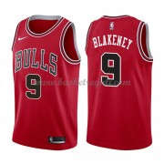 Maglie NBA Chicago Bulls 2018 Canotte Antonio Blakeney 9# Icon Edition..