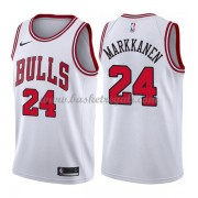Maglie NBA Chicago Bulls 2018 Canotte Lauri Markkanen 24# Association Edition..