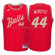 Magliette Basket Chicago Bulls 2015 Nikola Mirotic 44# NBA Natale Swingman..