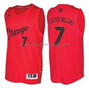 Magliette Basket Chicago Bulls 2016 Michael Carter-Williams 7# NBA Natale Swingman..