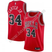 Maglie NBA Chicago Bulls 2019-20 Wendell Carter Jr. 34# Rosso Icon Edition Canotte Swingman..